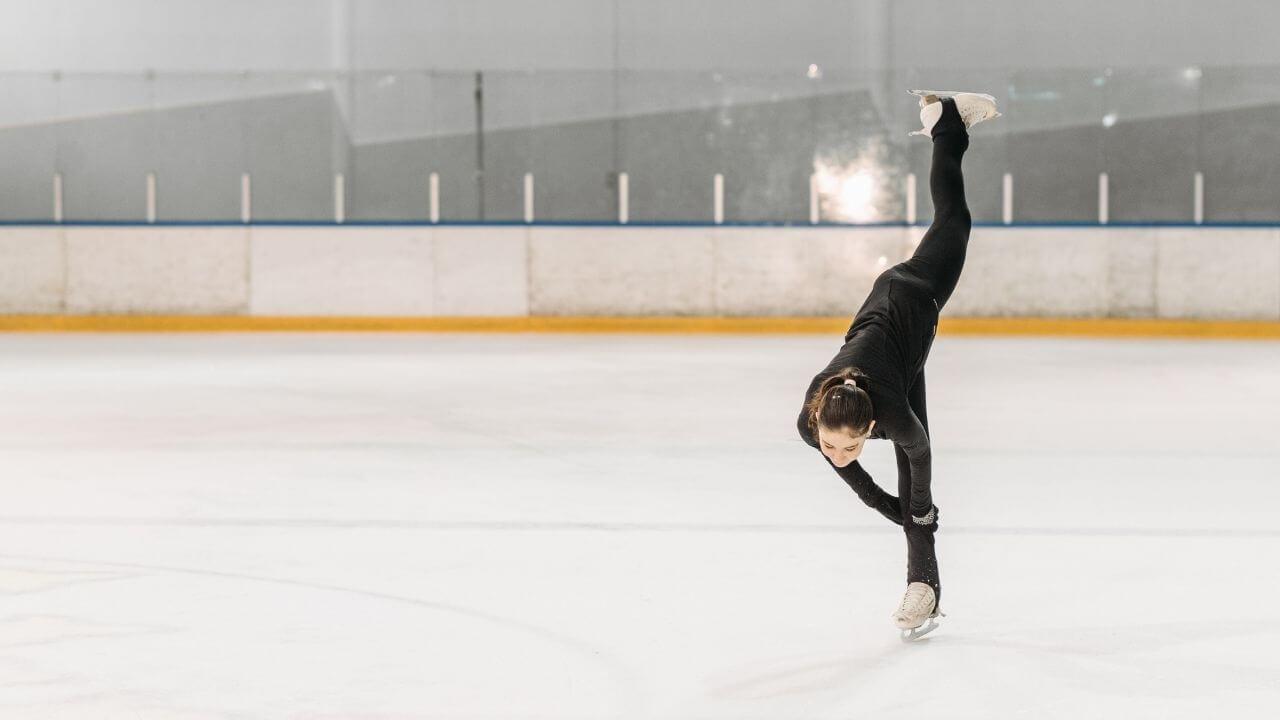 アイスダンス練習記