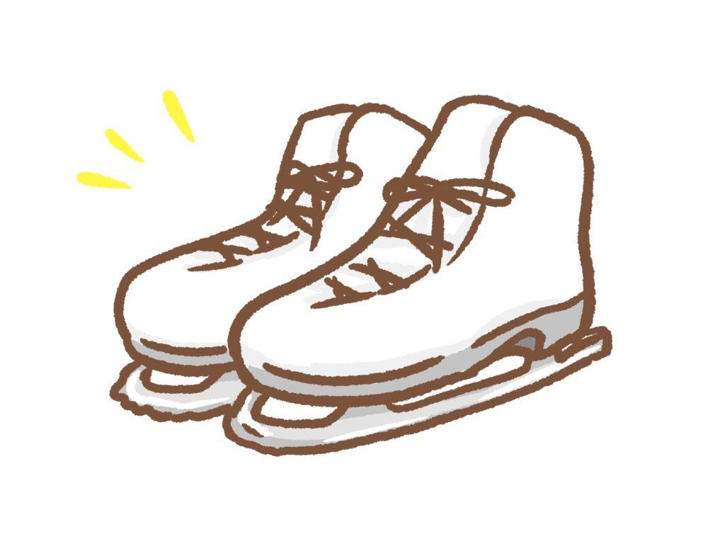 フィギュアスケートの靴