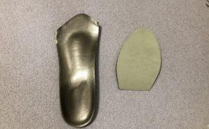 スケート靴の中敷き