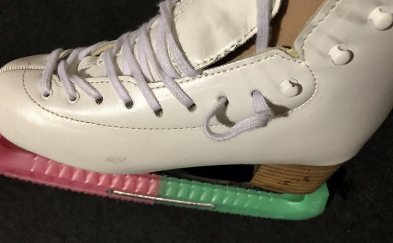 スケート靴の結び方